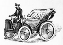 Old Model T Ford Drawing